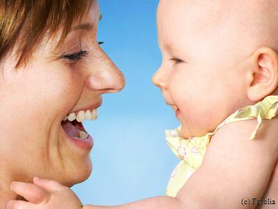 foto-mutter und baby